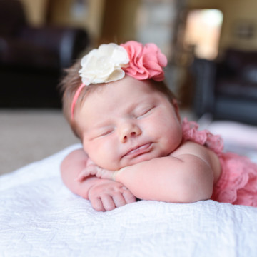 Newborn Girl Aviana | Park Rapids, MN Family & Baby Photographer