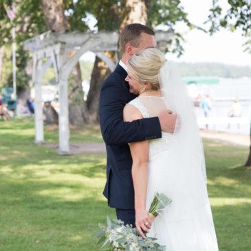 Z + A Carlson Wedding, Ruttger's Birchmont Lodge, Bemidji Town & Country Club | MN Wedding Photographer